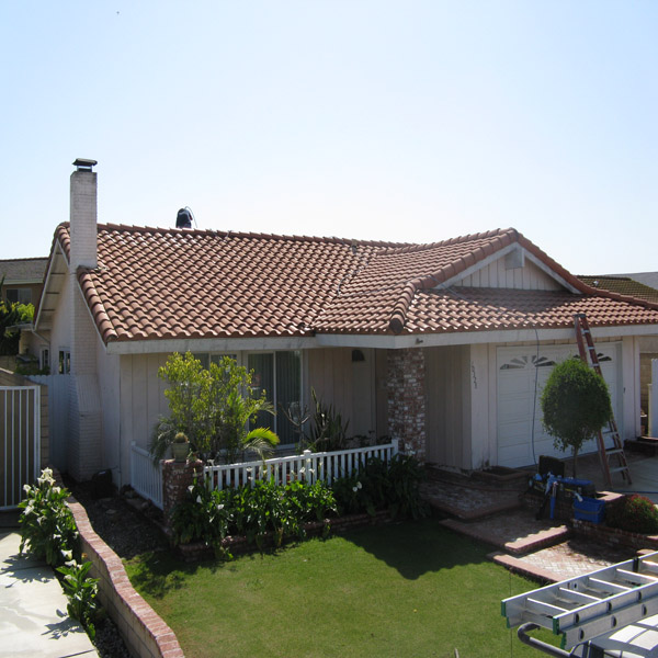 Roof Cleaning After Huntington Beach