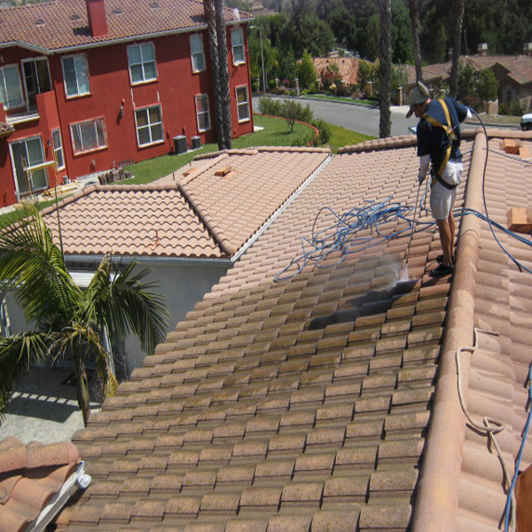 Roof Cleaning Before & After Chino Hills